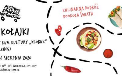 Food trucki przyjeżdżają do Mikołajek!