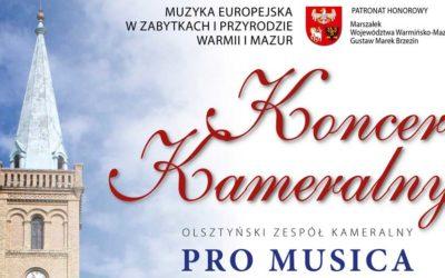 Koncert  Kameralny PRO MUSICA ANTIQUA
