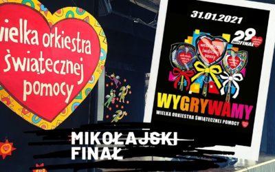 WOŚP w Mikołajkach: podliczono pieniądze ze zbiórki