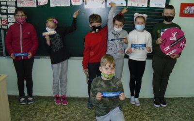 Klubowicze DKK dla dzieci świętują Ogólnopolski Tydzień Czytania Dzieciom